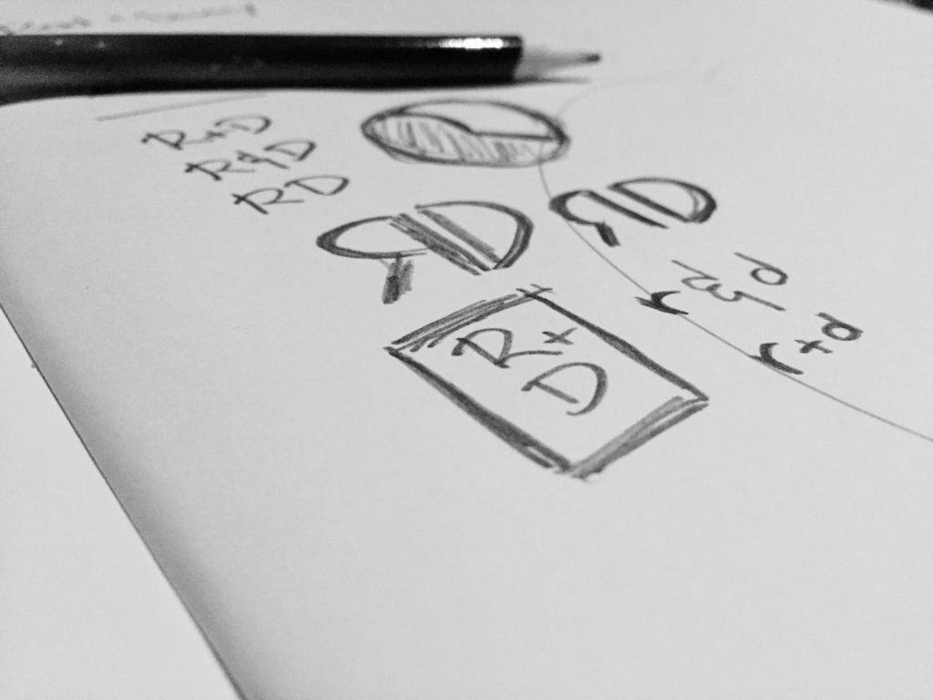 R + D lettermark study